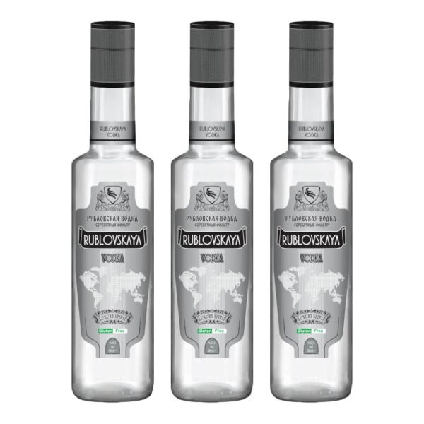 Sparpaket 3xRublovskaya-Vodka-700ml