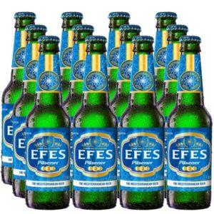 العبوة الاقتصادية Efes Pils 12 x 0,33l