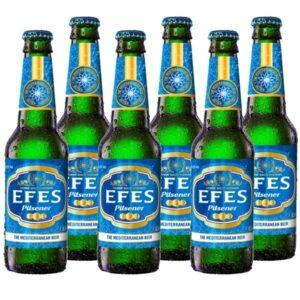 العبوة الاقتصادية Efes Pils 6 x 0,33l