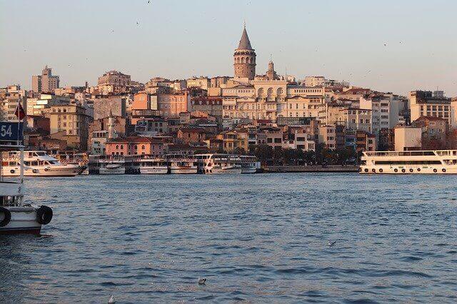 Istanbulin Galata-ranta