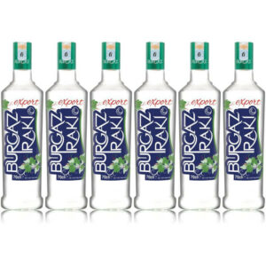 Package 6 x Burgaz Raki Export 0