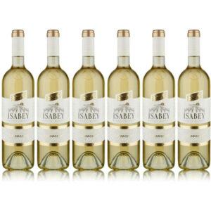Pakkaus 6 x Sevilen Isabey Chardonnay