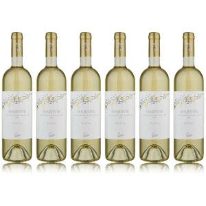Pakkaus 6 x Sevilen Majestik Sauvignon blanc ja Sultaniye
