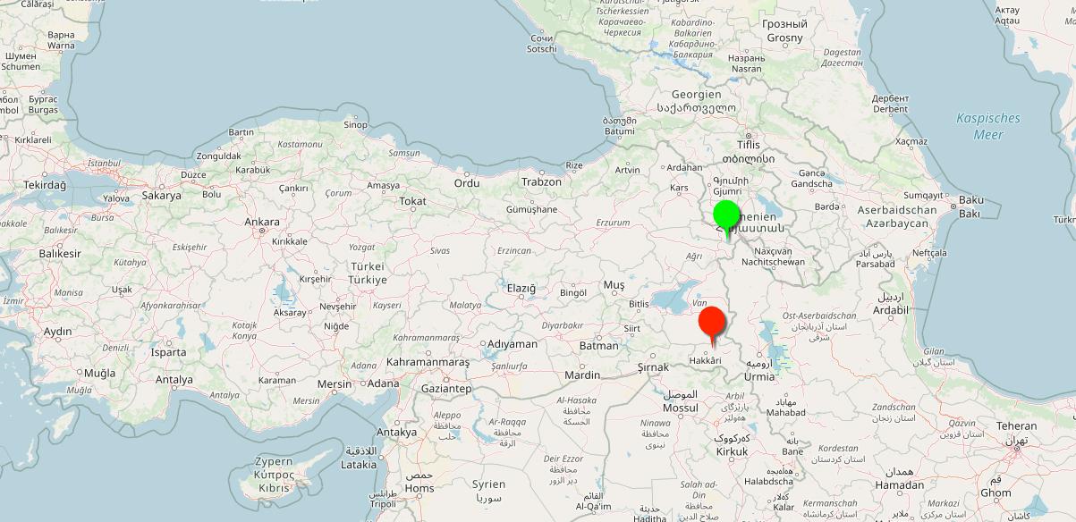 Türkische Weine auf der Karte