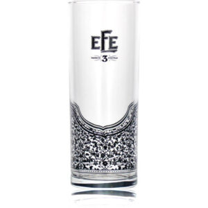 Efe trigubas raki stiklas